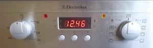 Изображение: Панель управления духовки