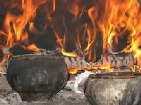 Зображення: Вогонь в печі.